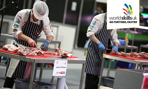 worldskills uk butchery competition